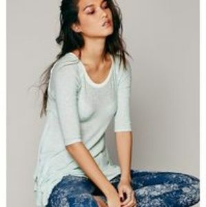 Free People intimately xs weekend layering top